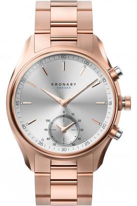 Unisex Kronaby SEKEL Alarm Watch A1000-2745