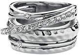 Dyrberg Kern Multi Band Crystal Ring M-L