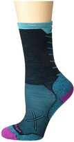 Darn Tough Vermont Vertex Micro Crew Ultralight with Cushion (Black) Women's Crew Cut Socks Shoes