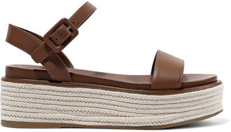Sergio Rossi Patent-leather Platform Sandals