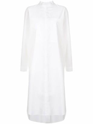 Seya. Long Sleeve Large Patch Pocket Dress