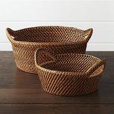 Crate & Barrel Artesia Bread Baskets