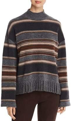 Max Mara Amico Wool Fringed Sweater
