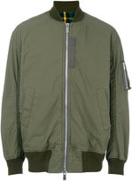 Sacai contrast lining bomber jacket - men - Cotton/Nylon/Polyester/Cupro - 2