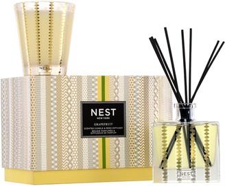 NEST New York NEST Fragrances Grapefruit Candle & Reed Diffuser Set