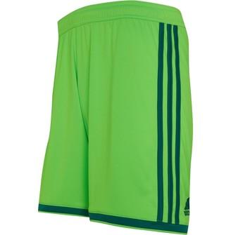 adidas Mens Regista 18 Climalite Shorts Solar Green/Bright Green