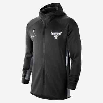 Nike Mens NBA Hoodie Bulls Therma Flex Showtime