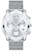 Movado Bold Chronograph Stainless Steel Bracelet Watch