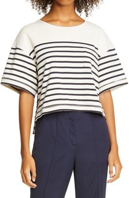La Ligne Stripe Boxy T-Shirt