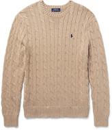 Polo Ralph Lauren Cable-Knit Cotton Sweater