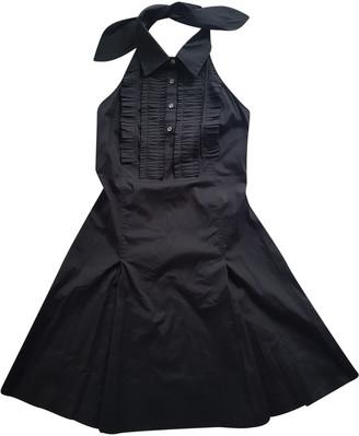 Celine Black Cotton Dresses