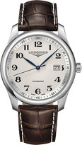 Longines L2.793.4.78.3 Master Collection stainless steel and leather watch