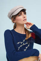 Anthropologie Herringbone Engineer Cap
