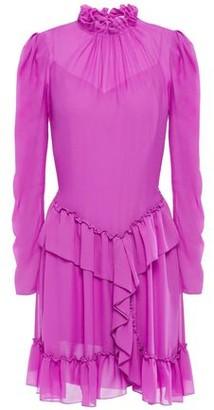 See by Chloe Ruffled Georgette Mini Dress