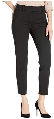 J.Crew Cameron Slim Crop Pant in Four-Season Stretch (Black) Women's Casual Pants