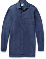 Paul Smith - Oversized Triple-stitched Denim Shirt
