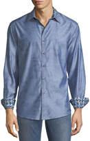 Robert Graham Classic-Fit Abbey Oak Sport Shirt