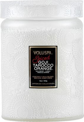 Voluspa Japonica Spiced Goji Tarocco Orange Large Jar Candle