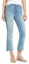 Mother Women's The Insider High Waist Step Hem Crop Bootcut Jeans