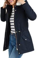 Oasis Camelia Short Parka Coat