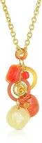 Antica Murrina Veneziana Shiva - Murano Glass Charm Necklace