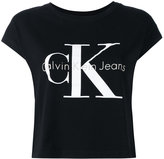 Calvin Klein Jeans logo T-shirt - women - Cotton - M
