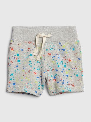 Gap Baby Paint Splatter Pull-On Shorts