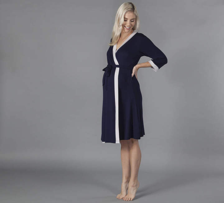 7567f5cd6cc18 Grey Jersey Dressing Gown - ShopStyle UK