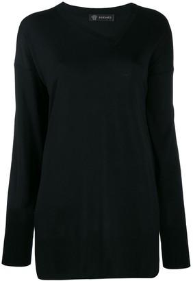 Versace Short Loose Knitted Dress