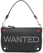 Coach 'wanted' studded clutch