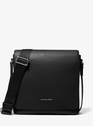 Michael Kors Cooper Pebbled Leather Messenger Bag