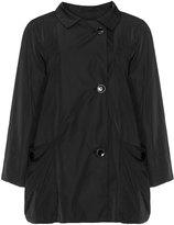 Classic Plus Size Drawstring hem jacket