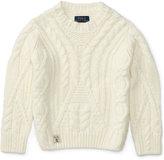 Ralph Lauren Cable-Knit Sweater, Toddler Girls (2T-5T) & Little Girls (2-6X)