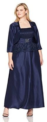 Jessica Howard Women's Size Peplum Jacket Dress