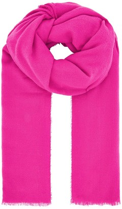 Accessorize Wells Supersoft Blanket Scarf - Pink