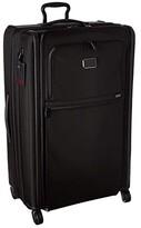 Tumi Alpha 3 Worldwide Trip Expandable 4 Wheeled Packing Case (Black) Luggage