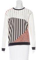 Cédric Charlier Abstract Print Crew Neck Sweatshirt w/ Tags