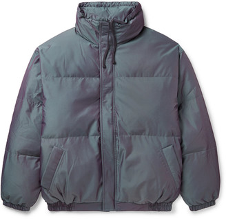 FEAR OF GOD ESSENTIALS Quilted Reflective Shell Puffer Jacket