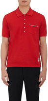 Thom Browne Men's Cotton Polo Shirt