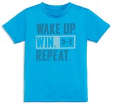 Under Armour Boys' Wake Up Win Repeat Logo Tee - Sizes 4-7