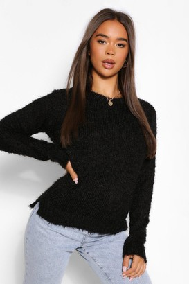 boohoo Fluffy Knit Sweater