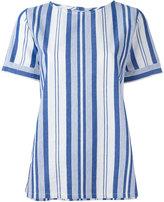 A.P.C. striped T-shirt - women - Cotton - 36