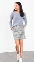 Esprit OUTLET jacquard print skirt