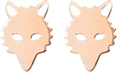 ginette_ny Wolf Studs earrings