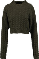 Vivienne Westwood Cable-Knit Wool-Blend Sweater
