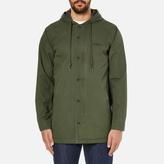 OBEY Clothing Men's Slugger Fishtail Parka Jacket Dark Army