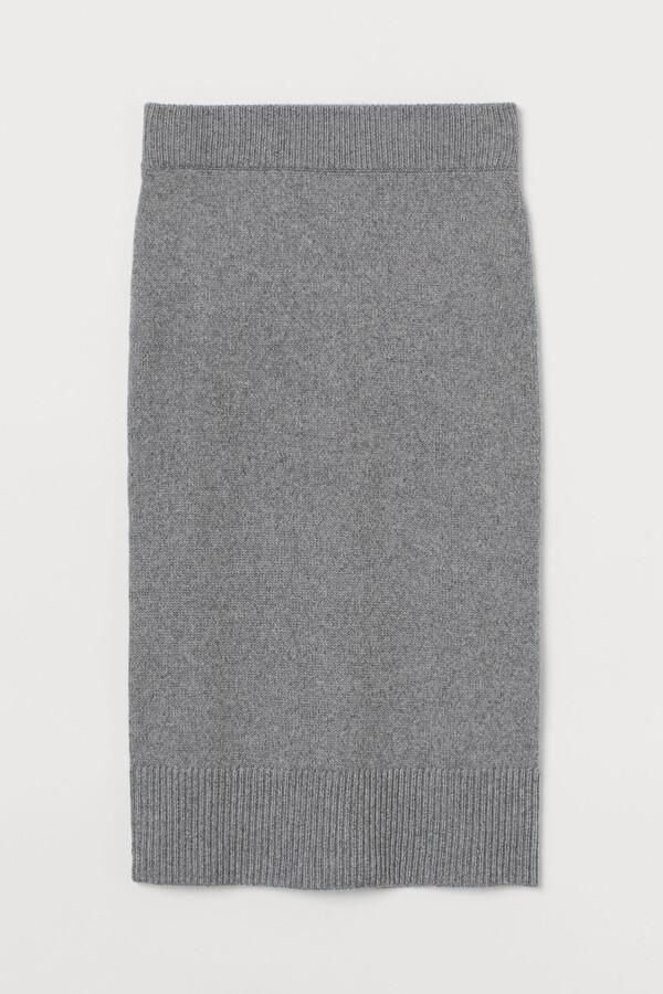 H&M Knitted skirt