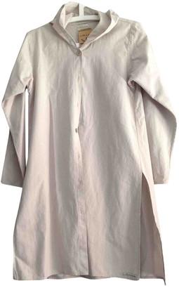 Non Signã© / Unsigned Beige Cotton Dresses