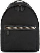 Stella McCartney Chain large nylon backpack