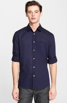 John Varvatos Men's Collection Slim Fit Cotton Woven Shirt
